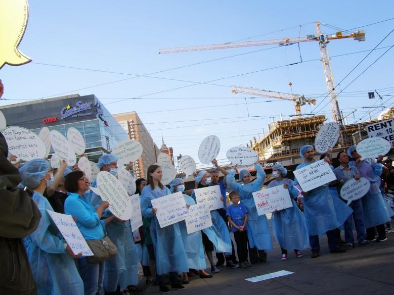 Warnstreik abgesagt: Charité flüchtet sich in Schlichtung
